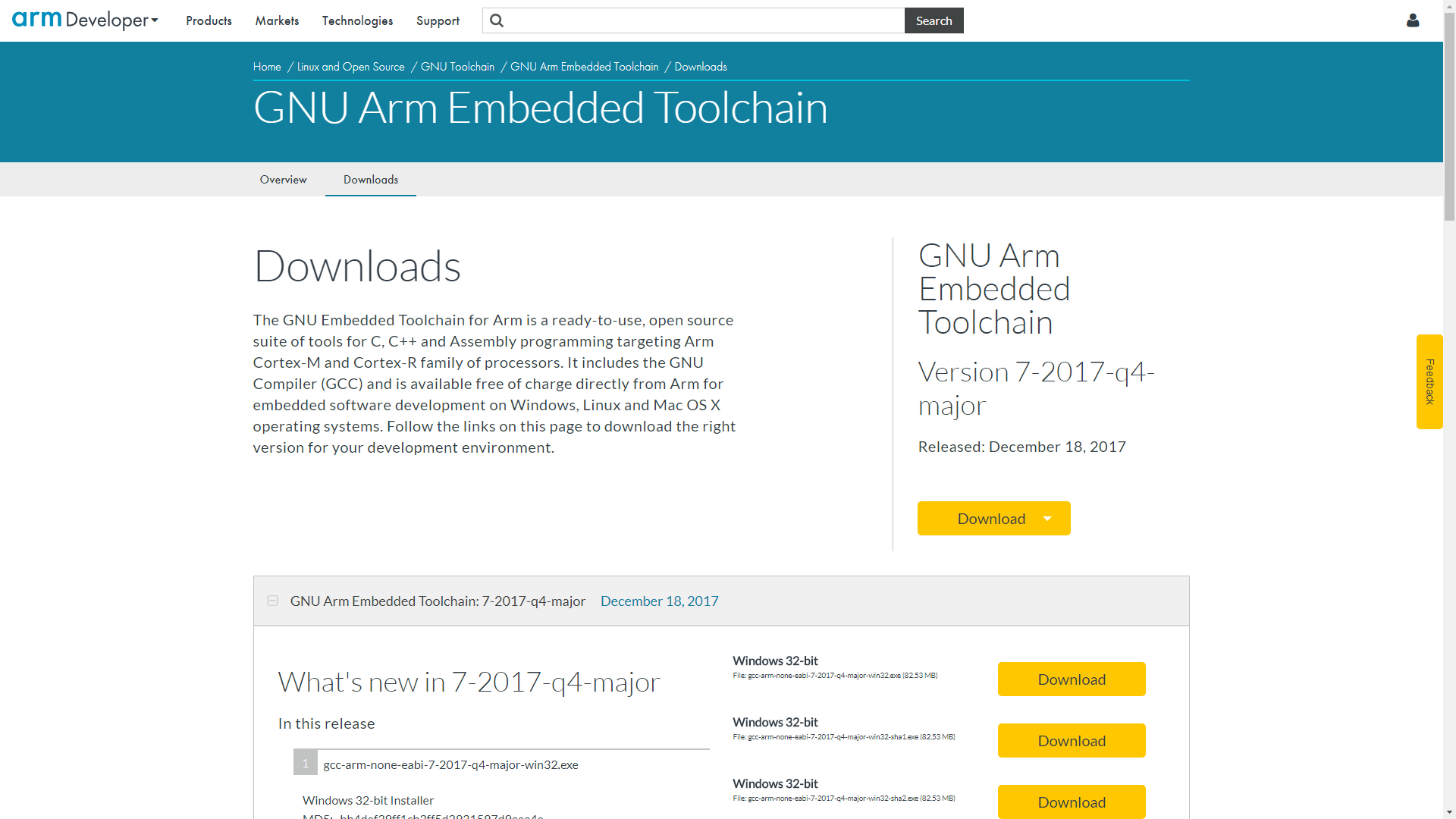 Install GNU ARM Toolchain - OpenMBD